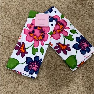 NWT Kate Spade floral kitchen towels